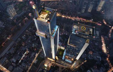 Autograph dan Luminary Tower menawarkan den observasi dengan panorama Kota Jakarta.