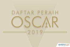 INFOGRAFIK: Daftar Peraih Oscar 2019