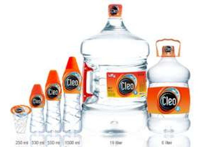 Air minum merek Cleo