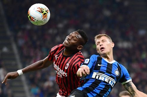 Hasil Liga Italia, Inter Milan Pimpin Klasemen Serie A