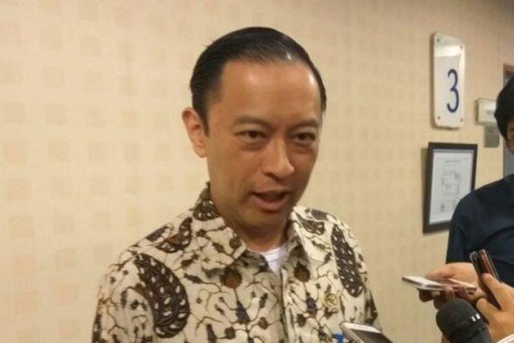Kepala Badan Koordinasi Penanaman Modal (BKPM) Thomas Trikasih Lembong di Jakarta, Rabu (25/1/2017).