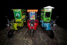 Motor Listrik Roda Tiga untuk UMKM Dijual Rp 20 Jutaan