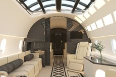 Desainer Muda Ini Rancang Kabin Pesawat Beratap Kaca