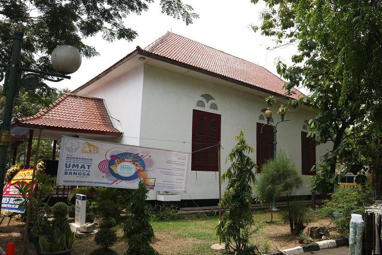 Gereja Tugu yang berlokasi di Kampung Tugu, Semper, Jakarta Utara merayakan ulang tahunnya yang ke 271, Minggu (3/11/2019).