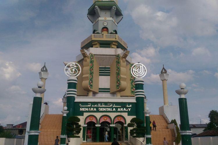 Museum Gentala Arasy yang ada di Jambi bisa jadi alternatif destinasi di Provinsi Jambi. Gambar diambil Rabu (24/5/2017).