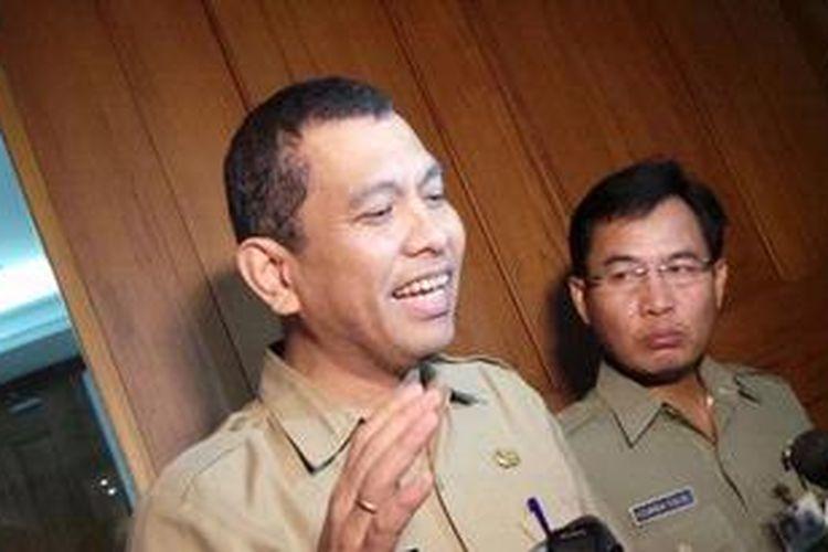 Kepala Dinas Pekerjaan Umum DKI Manggas Rudy Siahaan