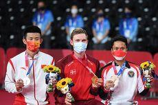 Pesan Axelsen Usai Raih Emas Olimpiade Tokyo, Sebut Nama Anthony Ginting