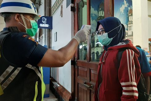 Penumpang Dilarang Naik Kereta Api Jika Tak Pakai Masker, Tiket Dikembalikan Penuh