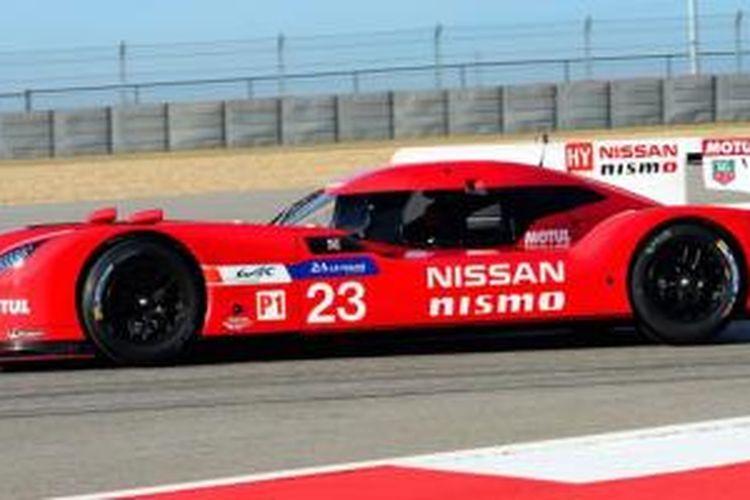 Nissan GT-R LM NISMO yang bakal tampil di Le Mans 2015