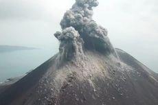 Citra Satelit Tunjukkan Anak Krakatau