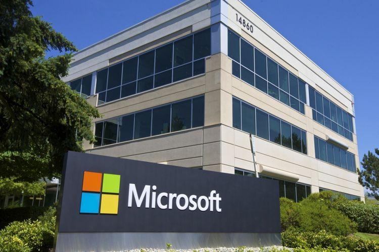 Kantor/pabrik Microsoft.
