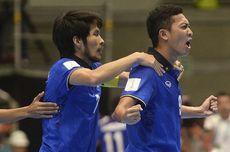 Hasil 16 Besar Piala Dunia Futsal: Thailand Gugur Dihajar 7 Gol, Argentina-Brasil Menang