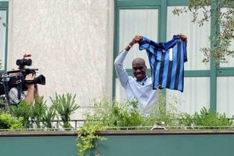 Gelandang anyar Inter Milan, Geoffrey Kondogbia.
