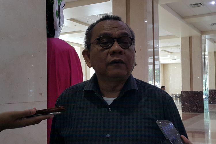 Wakil Ketua DPRD DKI Jakarta Mohamad Taufik di Gedung DPRD DKI Jakarta, Jalan Kebon Sirih, Senin (2/10/2017).