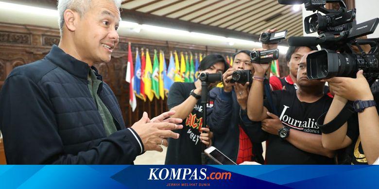 Ganjar Dimarahi Warga karena Izinkan MV Columbus B