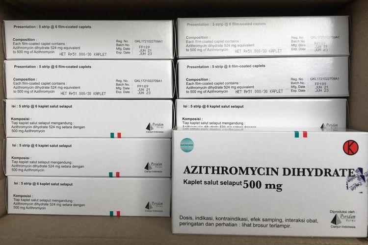 Azithromycin buatan Pyridam Farma