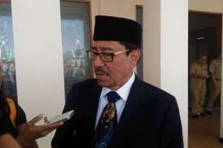 Wakil Gubernur Maluku, Zeth Sahuburua, Senin (7/3/2016)