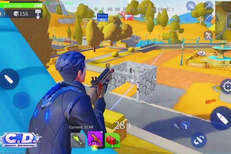 Ilustrasi game Creative Destruction