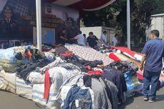 Polisi Gagalkan Penyelundupan Pakaian Bekas dari China Bernilai Miliaran Rupiah