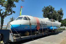 Pesawat N-250 Gatotkaca Tiba di Museum Dirgantara Mandala Yogyakarta