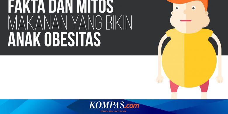 infografik kesehatan mitos dan fakta makanan yang bikin anak obesitas infografik kesehatan mitos dan fakta