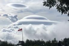 Viral Gunung Sumbing Disebut Mengerikan karena Tertutup Awan Bertingkat