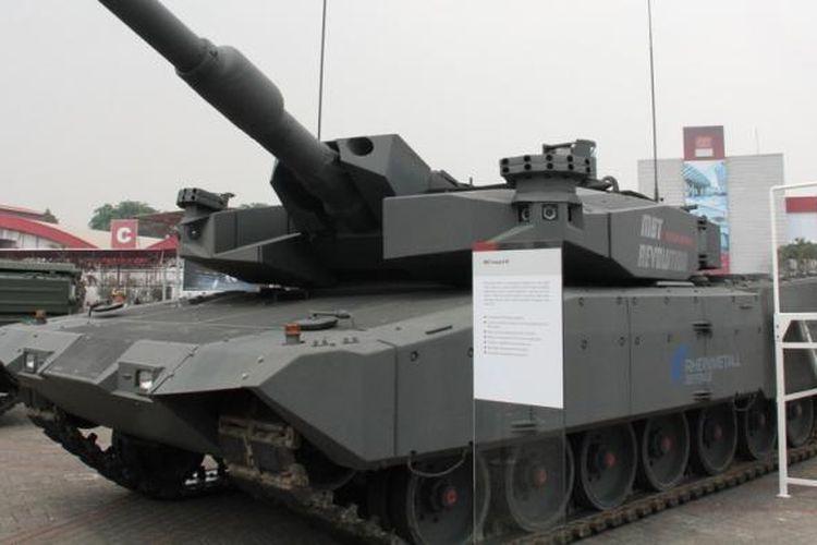 Main Battle Tank Leopard di Indo Defense 2012