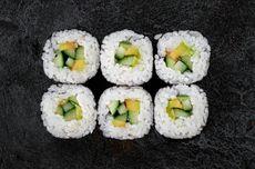 Resep Sushi untuk Anak, Isi Timun dan Alpukat