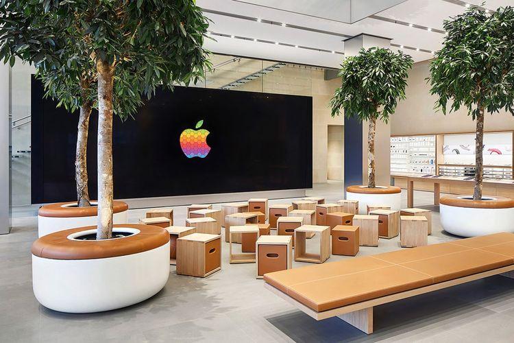 logo Apple.