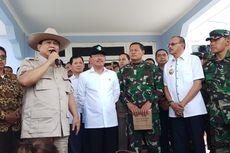 Kunjungi WNI yang Dikarantina di Natuna, Prabowo Minta Warga Tak Cemas