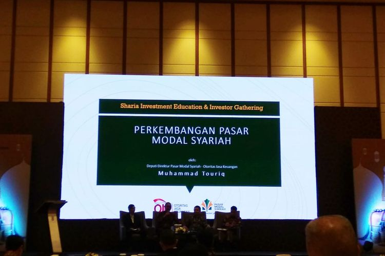 Seminar Sharia Investment Education and Investor Gathering di Jakarta, Selasa (14/5/2019)