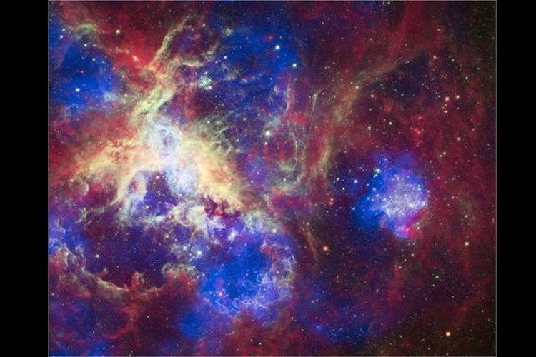Largest Nebula: the Tarantula Nebula