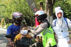 Kala Polisi Bawa Pocong dan Jin untuk Ingatkan Pentingnya Prokes