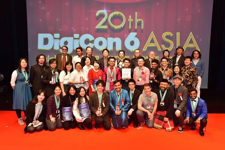 Dua tim animasi UMN meraih juara nasional dalam 20th DigiCON6 ASIA, perlombaan film pendek tahunan yang diselenggarakan Tokyo Broadcasting System (TBS).
