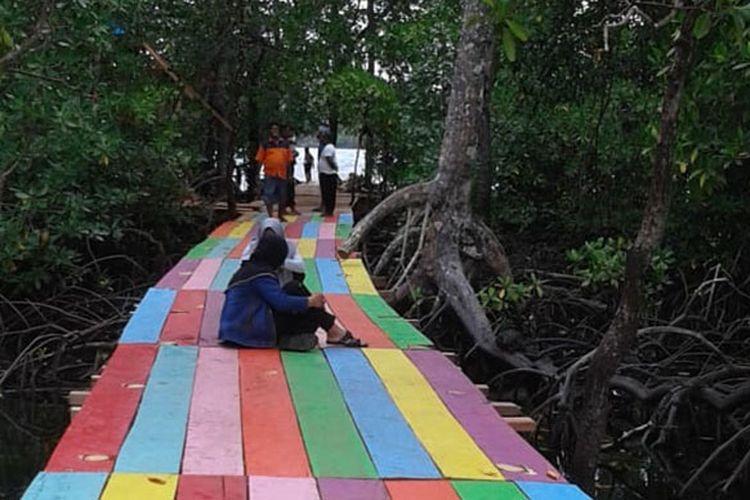 Hutan Mangrove di Desa Kecapi mulai dikenal masyarakat untuk berwisata