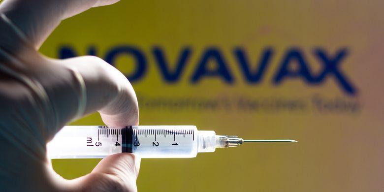 Ilustrasi vaksin Novavax