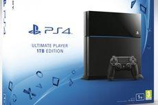 Sony Resmikan PS4 Kapasitas 1 TB