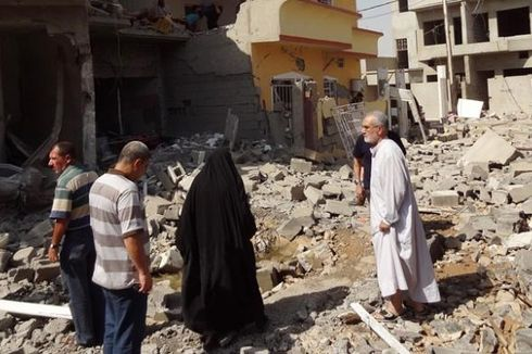 Di Irak, Peledakan Bom Incar Tempat