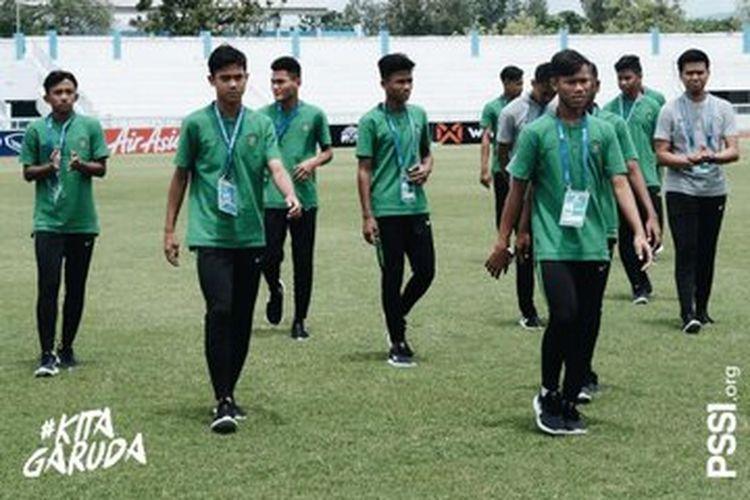 Timnas U-15 Indonesia berjuang di Piala AFF U-15 2019.