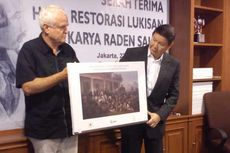 Lukisan Raden Saleh Selesai Direstorasi