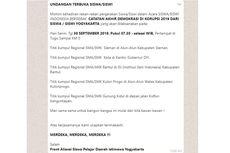 Beredar Pesan Seruan Aksi Pelajar di Yogyakarta, Ini Kata Polda DIY