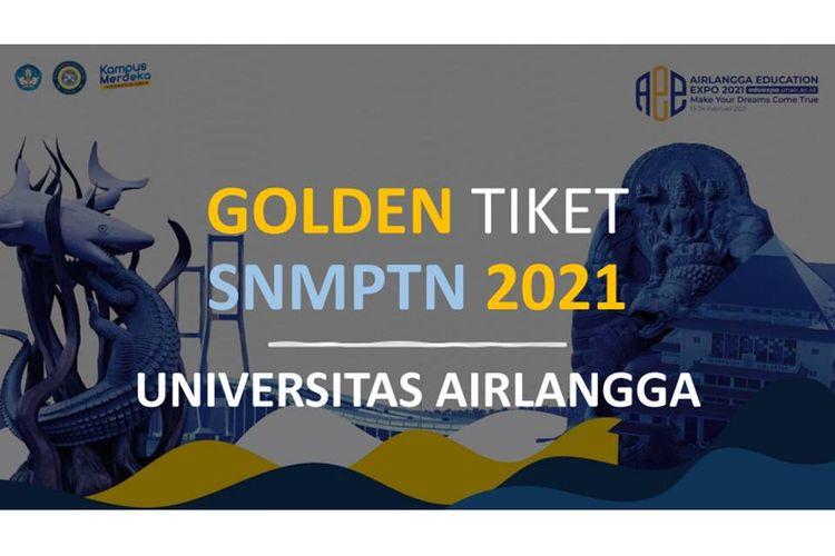 Universitas Airlangga (Unair) membuka jalur Golden Ticket peserta SNMPTN 2021.