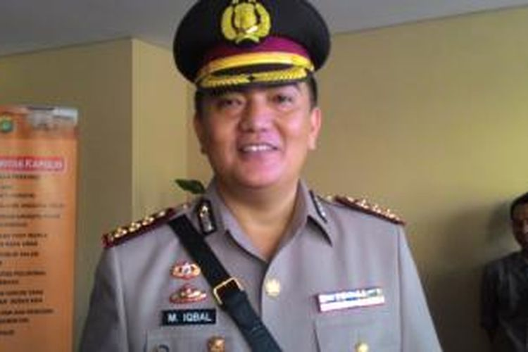 Kepala Bidang Humas Polda Metro Jaya Komisaris Besar Muhammad Iqbal.