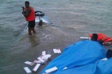 Mesin Penyedot Air Mati, Perahu Pengangkut Rokok Tenggelam