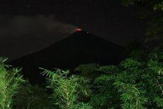 Gunung Karangetang Muntahkan Guguran Lava, Jarak Luncuran 1.500 Meter