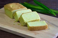 Resep Bolu Pandan Tanpa Kuning Telur, Kue Rendah Lemak Camilan Diet