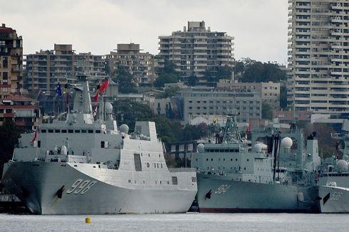 Kejutkan Warga Sydney, Kapal Perang China Beli Susu Bayi