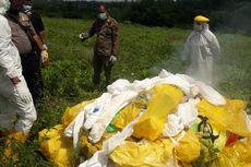 Limbah Medis Berbahaya Ditemukan Warga di Lahan Kosong, Diduga Sengaja Dibuang