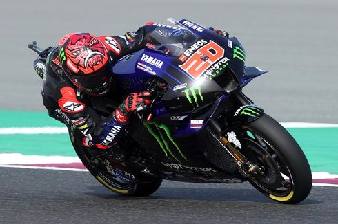 Hasil FP3 MotoGP Doha, Quartararo Tercepat, Suzuki Mulai Jadi Ancaman