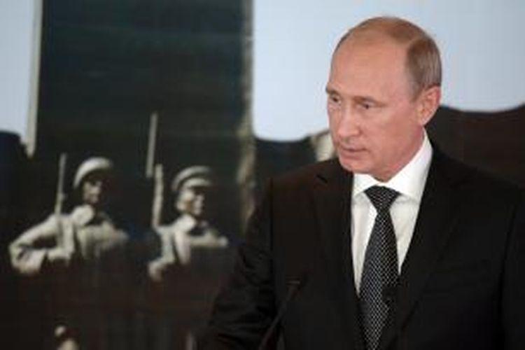 Presiden Rusia, Vladimir Putin.
